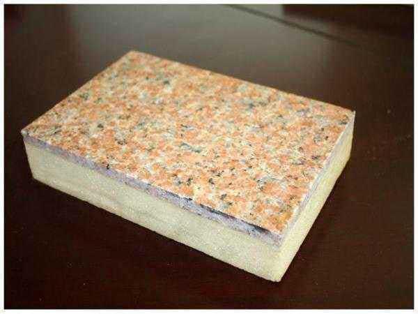 石材装饰一体化板